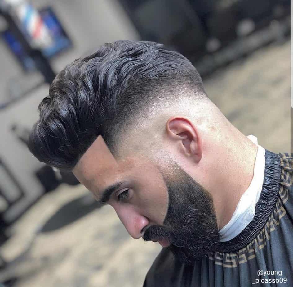 professional haircut photo