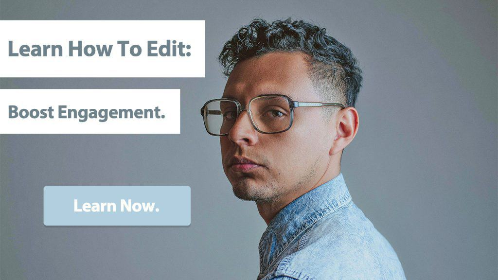 easy course to help somebody learn how to edit their haircutting images