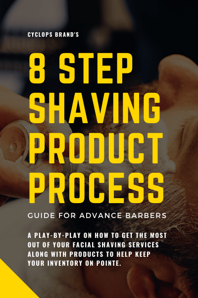 8 step shaving product process